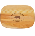 """EVERYDAY BOARD: 15"""" x 10"""" MEDIUM PERSONALIZED FAMILY GRILL"""