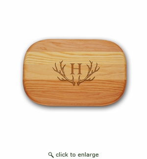 EVERYDAY BOARD: SMALL PERSONALIZED ANTLER MOTIF
