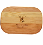 """EVERYDAY BOARD: 10"""" x 7"""" SMALL PERSONALIZED BUCK"""