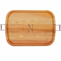 "EVERYDAY COLLECTION: 21"" x 15"" LARGE SERVING TRAY WITH URBAN HANDLES"