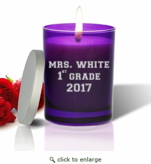 Gem Collection Candles : AMETHYST