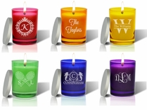 Gem Collection Candles : Eco-Luxury Décor