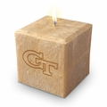 "GEORGIA TECH  : 3"" PALM WAX CANDLE"