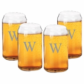 GLASS BEER CAN SETS