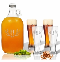 GROWLER & PILSNER SETS