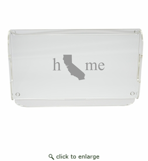 HOME STATE SERVING TRAY WITH HANDLES