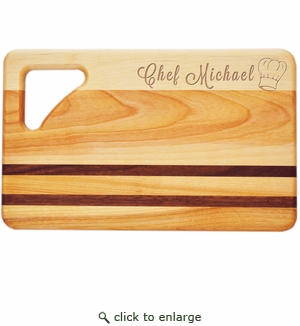 """INTEGRITY BOARD: 10"""" x 6"""" SMALL PERSONALIZED CHEF HAT"""