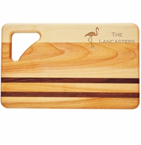 "INTEGRITY BOARD: 10"" x 6"" SMALL PERSONALIZED FLAMINGO"