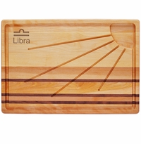 INTEGRITY BOARD: SUNBURST CARVING BOARD ASTROLOGY