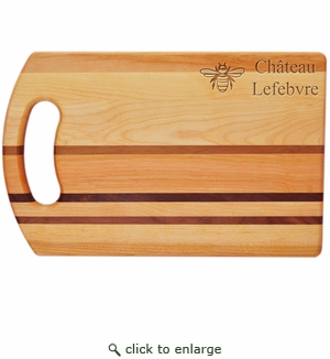 "INTEGRITY COLLECTION: 14"" x 9"" BREAD BOARD PERSONALIZED BEE"