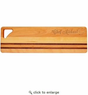 "INTEGRITY LONG BOARD: 20"" x 6"" PERSONALIZED CHEF HAT"