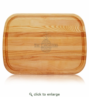 Large Everyday Pineapple Personalized Cutting Board