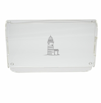 LIGHTHOUSE SERVING TRAY WITH HANDLES