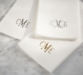 LINEN-LIKE DISPOSABLE GUEST TOWELS : 25 Count