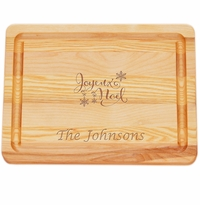"MASTER COLLECTION: 10"" x 7.5"" SMALL BOARD JOYEUX NOEL PERSONALIZED"