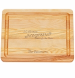 "MASTER COLLECTION: 10"" x 7.5"" SMALL BOARD MOST WONDERFUL TIME PERSONALIZED"