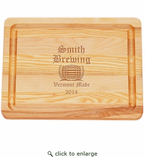 "MASTER COLLECTION: 10"" x 7.5"" SMALL BOARD PERSONALIZED OLD ENGLISH BREWERY"