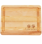 """MASTER COLLECTION: 10"""" x 7.5"""" SMALL BOARD PERSONALIZED PAWS"""