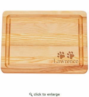 "MASTER COLLECTION: 10"" x 7.5"" SMALL BOARD PERSONALIZED PAWS"