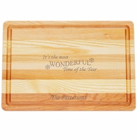 "MASTER COLLECTION: 14.5"" x 10"" MEDIUM BOARD MOST WONDERFUL TIME PERSONALIZED"