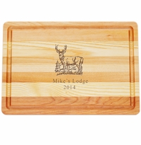 "MASTER COLLECTION: 14.5"" x 10"" MEDIUM BOARD PERSONALIZED BUCK"