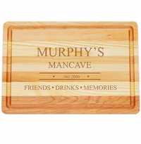 "MASTER COLLECTION: 14.5"" x 10"" MEDIUM BOARD PERSONALIZED MANCAVE"