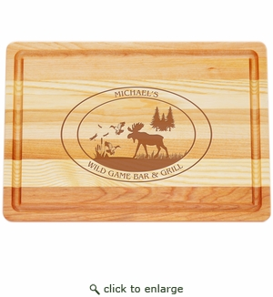 "MASTER COLLECTION: 14.5"" x 10"" MEDIUM BOARD PERSONALIZED WILDGAME"