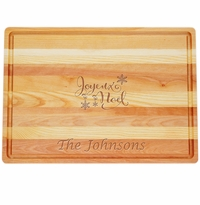 "MASTER COLLECTION: 20"" x 14.5"" LARGE BOARD JOYEUX NOEL PERSONALIZED"