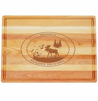 "MASTER COLLECTION: 20"" x 14.5"" LARGE BOARD PERSONALIZED WILDGAME"