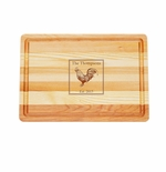 "MASTER COLLECTION: 14.5"" x 10"" MEDIUM BOARD PERSONALIZED ROOSTER"