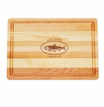 """MASTER COLLECTION: 14.5"""" x 10"""" MEDIUM BOARD PERSONALIZED TROUT LAKE HOUSE"""