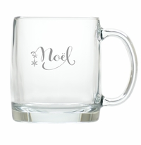 NOEL LARGE MUG (GLASS)