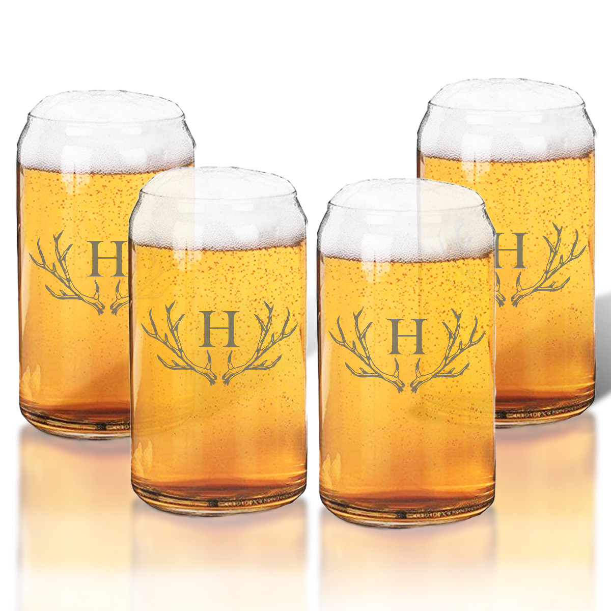 personalized glass drinkware by carved solutions