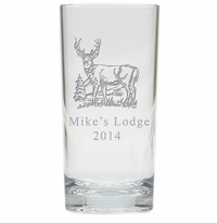 PERSONALIZED BUCK : HIGHBALL - SET OF 4 (Unbreakable)