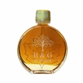 Personalized Certified Organic Vermont Maple Syrup Medallion Glass (50 ml) Case of 24 ($4.95/each bottle)