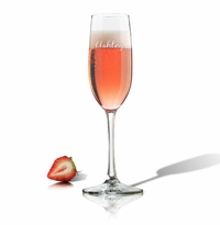 PERSONALIZED CHAMPAGNE FLUTE SINGLE (GLASS)