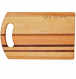 "INTEGRITY COLLECTION:14"" x 9"" BREAD BOARD PERSONALIZED CHEF HAT"