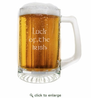 PERSONALIZED CLASSIC SPORTS MUG (Unbreakable ): Luck of the Irish