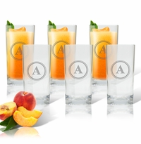 PERSONALIZED COOLER: SET OF 6 (Glass)