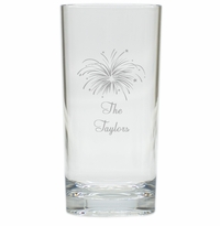 PERSONALIZED FIREWORKS HIGHBALL: SET OF 4 (Unbreakable)