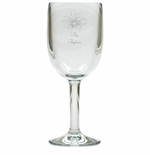 PERSONALIZED FIREWORKS WINE STEMWARE - SET OF 4 (Unbreakable)