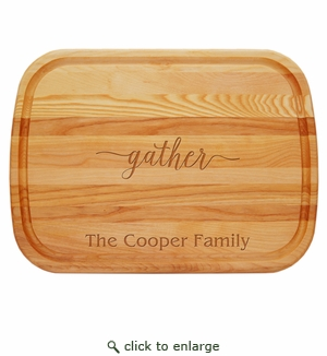Personalized Gather Large  Everyday Board
