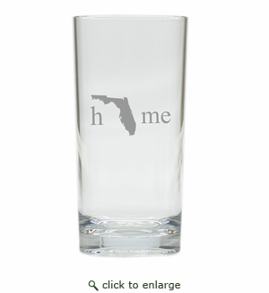 PERSONALIZED HIGHBALL HOMESTATE: SET OF 4 (Unbreakable)