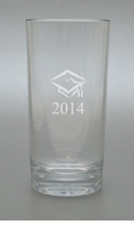 PERSONALIZED HIGHBALL SET OF 4 (Unbreakable):  CLASS OF 2014