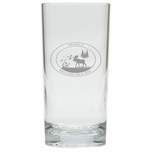 PERSONALIZED HIGHBALL SET OF 4 (Unbreakable): Wild Game Bar & Grill
