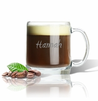 PERSONALIZED LARGE MUG (GLASS)