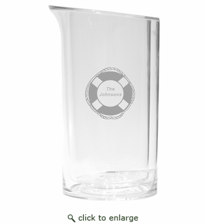 PERSONALIZED LIFE PRESERVER WINE COOLER