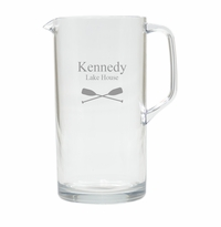 PERSONALIZED OARS PITCHER  (Unbreakable)