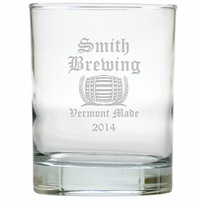 PERSONALIZED OLD ENGLISH BREWERY : OLD FASHIONED - SET OF 4 (Unbreakable)
