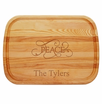 Personalized Peace Large Everyday Board